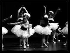 Little Beautiful Ballerinas by Chicago Love, via Flickr