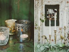 Mint + Brass Wedding Inspiration  Green Wedding Shoes Feature
