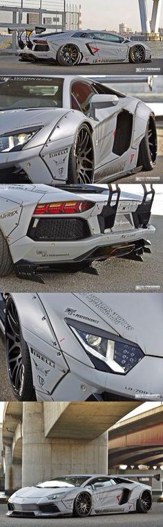 Liberty Walk   #Lamborghini Aventador.