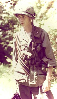 A very young U.S. soldier - Vietnam War
