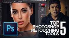 My TOP 5 PHOTOSHOP RETOUCHING TOOLS #RetouchingTutorialPhotographyTips