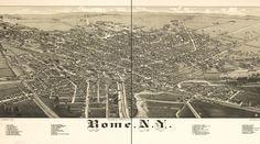 rome ny map 1886
