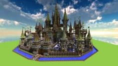 Castle [World save map] Minecraft Project
