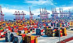 Ningbo-Zhousan Port.