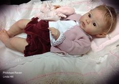 Raven by Ping Lau - Pre-Order (17th of Oct - 7th of Nov 2016) - Online Store - City of Reborn Angels Supplier of Reborn Doll Kits and Supplies