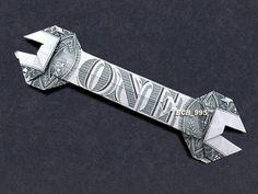 WRENCH Money Origami - Dollar Bill Art