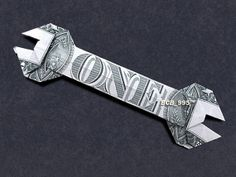 WRENCH Money Origami - Dollar Bill Art