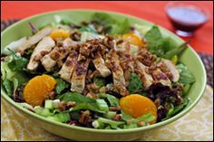 Nutty/Yummy Salad! GUILT-FREE swap!!!