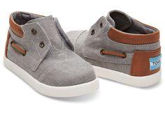 TOMS Bimini High Top Shoes | Toddler Shoes | Kids shoes | Boy shoes