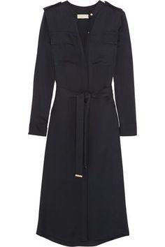 Silk-chiffon #shirt #dress #smart #offduty #women #covetme #michaelmichaelkors #MakeAMovieLazy #fashion #fbloggers #OOTD