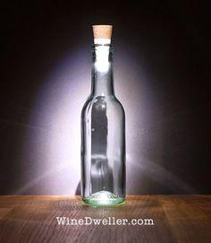 USB Rechargeable #Wine Bottle Light