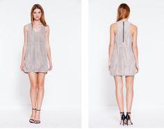 Parker Sam Suede Dress