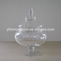 Wholesale 2016 home decor party hot selling unique design clear glass candy jar set,$ 0.38 GlassBeverageJuice.Source from Shanxi Yanghua Home Furnishings Ltd. on Alibaba.com.