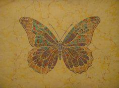 akkaşe-Kamuran İşcan Ebru Art, Water Marbling, Marble Art, Pattern Blocks, Kaftan, Quilt Blocks, Moth, Butterflies, Insects