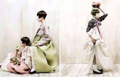 From Korean Vogue. 2010.