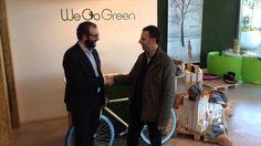 """We go green partner di Bologna Inside. Con il seguente codice """" bolognainside2015 """" avrete diritto alla spedizione gratuita dal sito www.wegogreen.it"""