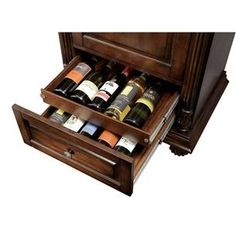 Man Cave Handsome Wine And Spirits Cabinet By Howard Miller