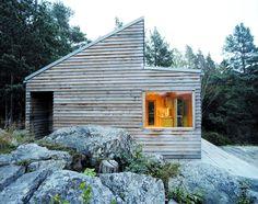 Dwell - A Prefab Cabin in Norway