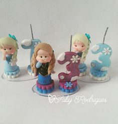 Faby Rodrigues : Mini topinhos Frozen