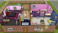 Sims freeplay Main house top floor