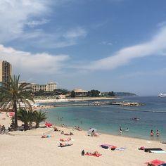 #Larvotto beach day in monaco ☀️ by steph.elie from #Montecarlo #Monaco