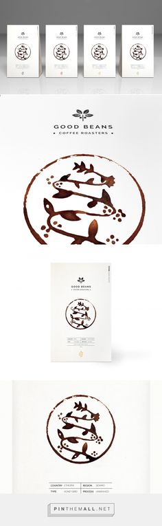 Packaging of the World is a package design inspiration archive showcasing the best, most interesting and creative work worldwide. Chocolate Packaging, Coffee Packaging, Cool Packaging, Design Packaging, Packaging Design Inspiration, Graphic Design Inspiration, Cafe Concept, Best Beans, Japanese Logo