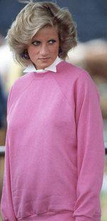June 28, 1984: Princess Diana at a polo match, Cirencester, Gloucestershire.