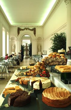 The Orangery at Kensigton Palace, London - had a lovely tea here with the girls and Rick