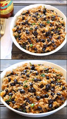 Black Beans Rice is spicy and incredibly delicious, nutty flavored Mexican rice recipe - I love rice and beans, this is different than others I've pinned, will try it. More