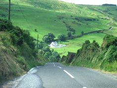 Torr Road - Antrim Coast Road Northern Ireland