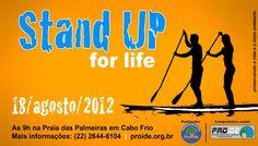 Aconteceu Stand Up For Life - Evento do Provide e Proide