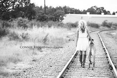 Gabby – Class of 2013 – Tacoma Senior Photographer Railroad Photography, Senior Photography, Animal Photography, Photography Ideas, College Senior Pictures, Senior Year, Senior Photos, Dog Photos, Dog Pictures