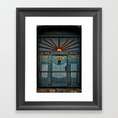 """🚪 Some doors and gates have a natural air of mystery about them. This art print captures it perfectly. Get """"The Gate to Valhalla Framed Art Print"""" @society6  https://society6.com/product/the-gate-to-valhalla_framed-print"""