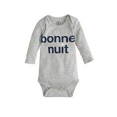 Baby bonne nuit one-piece