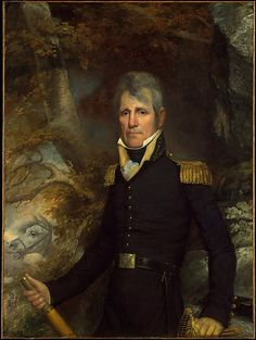 """""""General Andrew Jackson"""" by John Wesley Jarvis (1819). Jackson served as the 7th President of the United States, 1829-1837."""