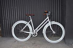 Vélo Fixie Street Shot 3 vitesses femme © Chappelli Cycles