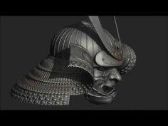Samurai Helmet and Mask WIP - YouTube