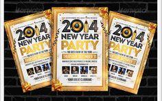 Golden New Year | Flyer Template