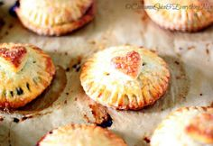 Blueberry Heart Hand Pies