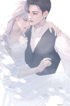 Couple Manga, Romantic Anime Couples, Romantic Manga, Anime Couples Drawings, Anime Love Couple, Anime Couples Manga, 5 Anime, Chica Anime Manga, Anime Angel