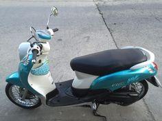 ขาย YAMAHA Fino 115cc ปี 52 สีฟ้า สภาพแจ่ม ราคา 16,900 บาท