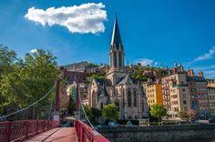 Lyon heeft een prachtig en kleurrijk historisch centrum. (Rhône)