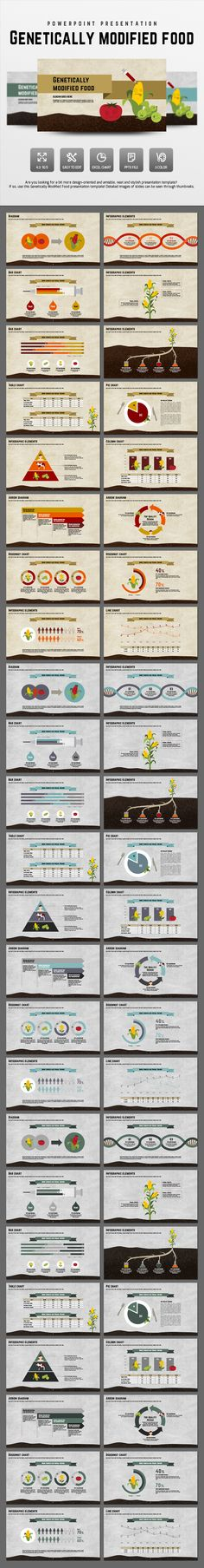 Genetically Modified Food (PowerPoint Templates)