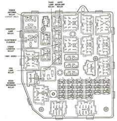 96 Jeep Cherokee Power Distribution Center Diagram Jeep