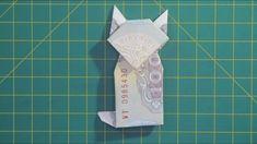 cách xếp hình con mèo bằng tiền giấy origami cat money | gấp giấy origami Origami 3d, Kimono Origami, Origami Music Note, Easy Money Origami, Origami Xmas Tree, Origami Pokemon, Money Origami Heart, Money Origami Tutorial, Dragon Origami