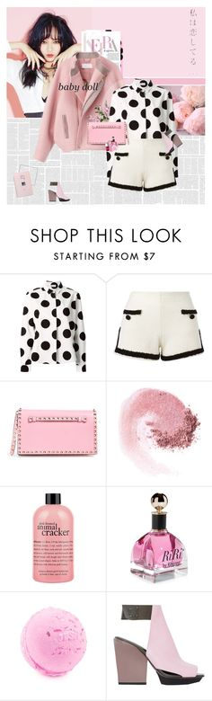 """Pink is an attitude."" by blackjacklove21 ❤ liked on Polyvore featuring RED Valentino, Moschino, Valentino, NARS Cosmetics, philosophy, 3.1 Phillip Lim, Christian Dior and modern"