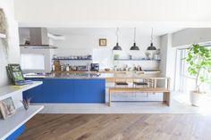 リフォーム・リノベーション会社:ブルースタジオ「M邸 — タイルとフローリング半分ずつの部屋」