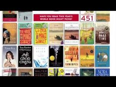 World Book Night -- this organization takes one night out of the year to donate books to those who are unlikely readers. A great organization that is easy to become a part of, whether by donating or handing out books!
