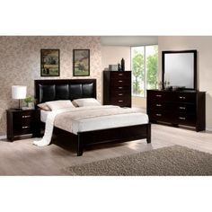 Hillsdale Furniture Wellington Queen Panel Customizable Bedroom Set