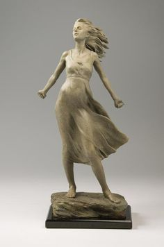 Wind's Embrace by Karl Jensen at Quent Cordair Fine Art - The Finest in Romantic Realism